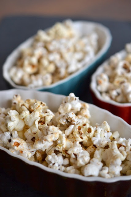 Hatch Chile-Coriander Popcorn for #StreamTeam - Jolly Tomato