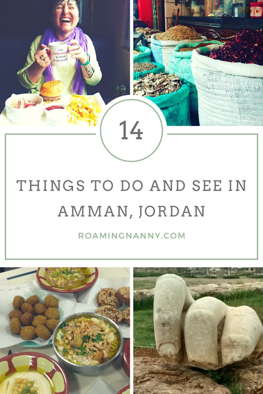 14 Things To Do and See in Amman, Jordan