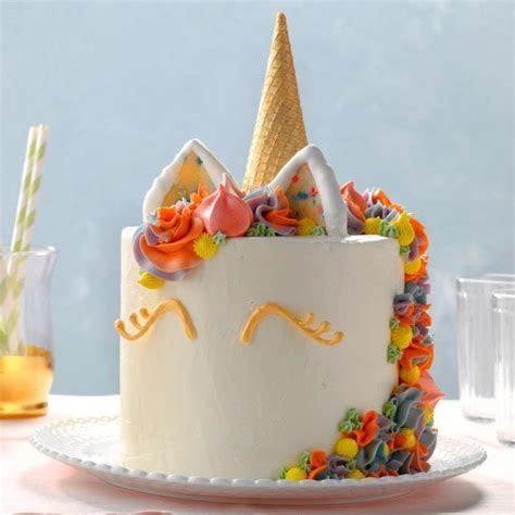 Unicorn Cake Recipe   Taste of Home
