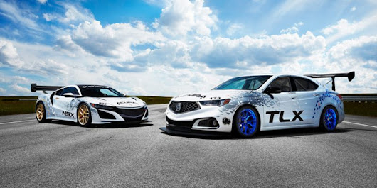 Acura NSX, TLX GT, TLX A-Spec, to Compete at Pikes Peak – Acura Connected