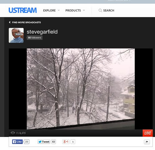 Live from Boston http://www.ustream.tv_channel_stevegarfield by stevegarfield