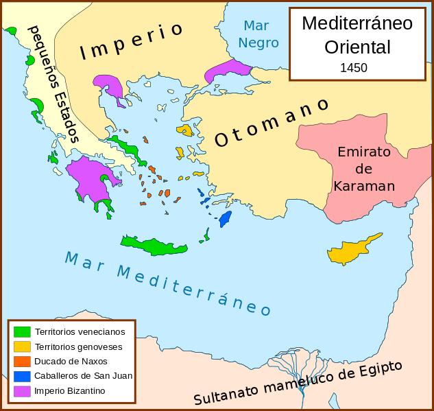 File:Mediterráneo Oriental 1450 d.C.svg