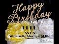 Happy Birthday Cake Topper Svg Free