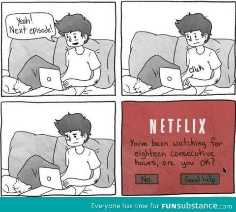 I love Netflix! Member for eight years.