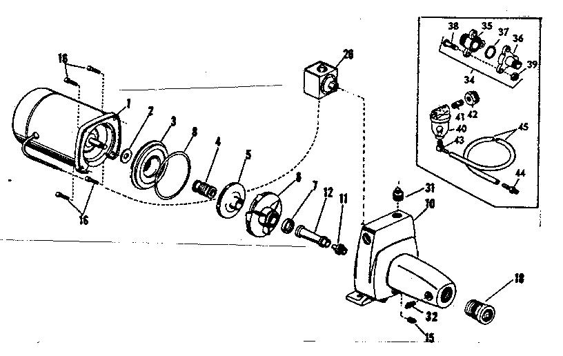 28 well pump parts diagram
