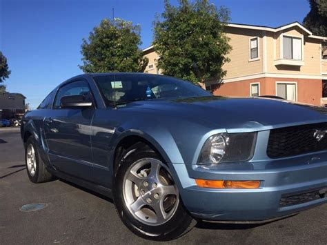 generation  ford mustang  manual  sale