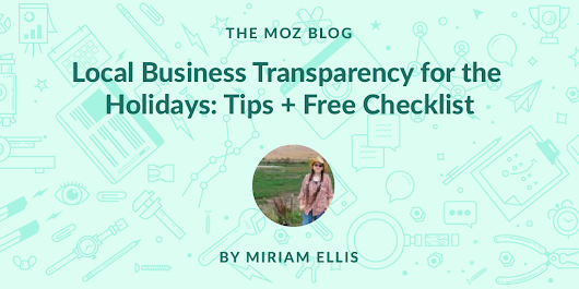 Local Business Transparency & Empathy for the Holidays: Tips + Downloadable Checklist