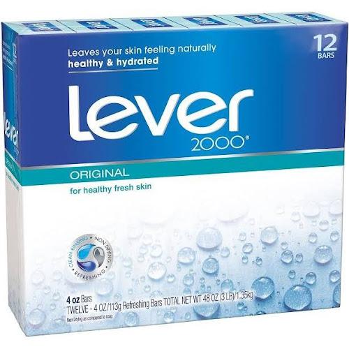 Lever 2000 Original Soap 12 Pack 4 Oz Bars