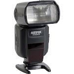 Sunpak DF4000U Hot-Shoe Flash - TTL - 19m0m - Black