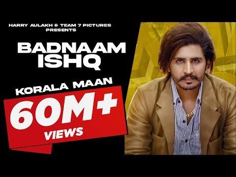 Badnaam Ishq Korala Maan Mp3 Punjabi Song Lyrics 2020