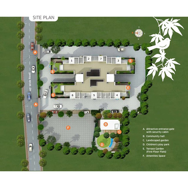 Om Praangan Ambegaon Pune Layout Plan