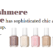Contest: Win the Essie Cashmere Matte Collection