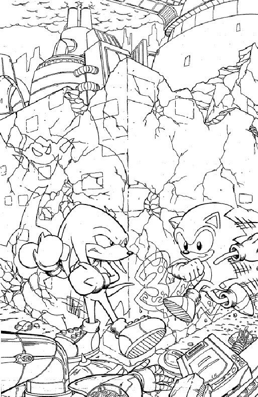 Kids-n-fun.com   20 coloring pages of Sonic X