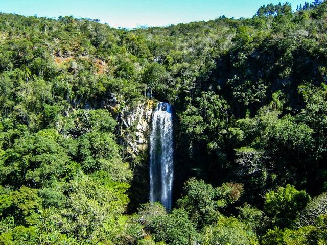 Cachoeira Puxa Nervos em Tibagi Paraná