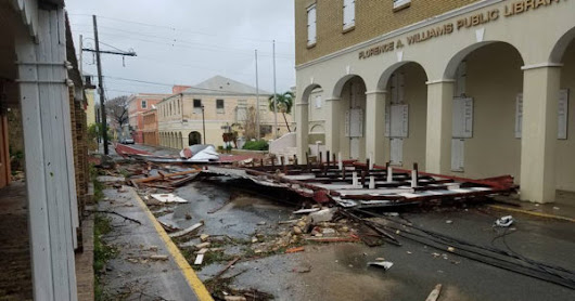 Many Roofs Gone on St. Croix; Flooding on St. Thomas