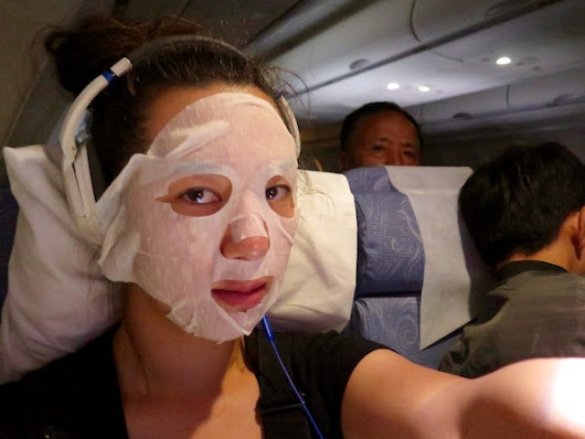 I Tested 7 Skincare Tips For Long Haul Flights & Here's What Happened