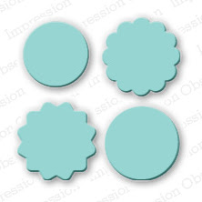 Mini Circle Tags Die Set