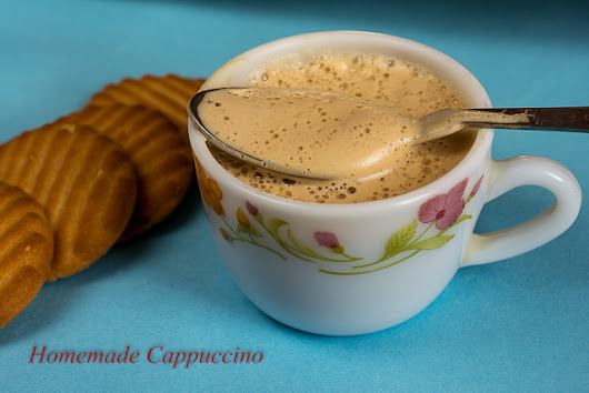 Homemade Cappuccino Recipe - How to Make Cappuccino Mix