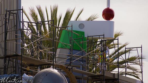 Disneyland Resort, Disneyland, Tomorrowland, Buzz, Lightyear, Astro, Blaster, Facade, Refurbishment, Refurbish, Refurb