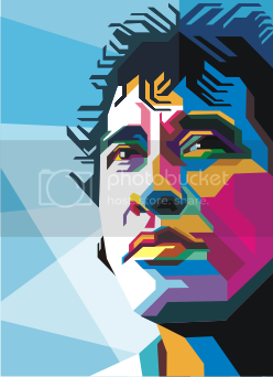 Free Download Vector WPAP Style Iwan Fals  On Vector