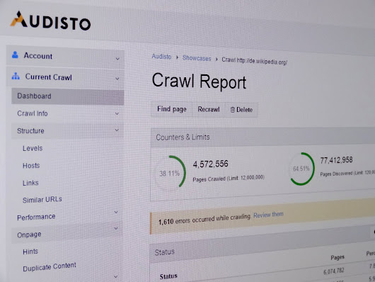 Crawl Budget and Crawl Rate Optimization