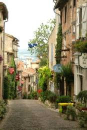 Cordes sur Ciel : La grand-rue Raimon VII