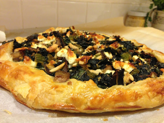 Swiss Chard and Corsican Brocciu cheese tart - Experience Plus