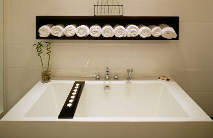 Spa Week and Coastal Bathroom Decor « CereusArt CereusArt