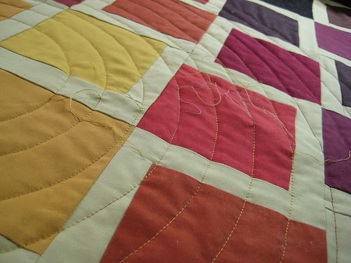 Concentric Quilting