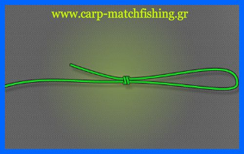 figureof8-4.jpg/Ο κόμπος οχταράκι, ή ο κόμπος του 8, είναι ένας από τους πιο δυνατούς και αξιόπιστους κόμπους, ειδικά όταν θέλουμε να φτιάχνουμε θηλιές για τα παράμαλα ή για τους συνδέσμους μας στις αρματωσιές. Ειδικά στο ψάρεμα του κυπρίνου χρησιμοποιείται για τα παράμαλα όταν θέλουμε να τους εφαρμόσουμε σάκους pva, σε συνδέσμους ταχείας απε.λευθέρωσης