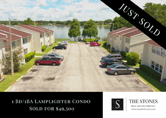 JUST SOLD: Lamplighter Condo in Winter Haven $49,500 - The Stones Real Estate Firm