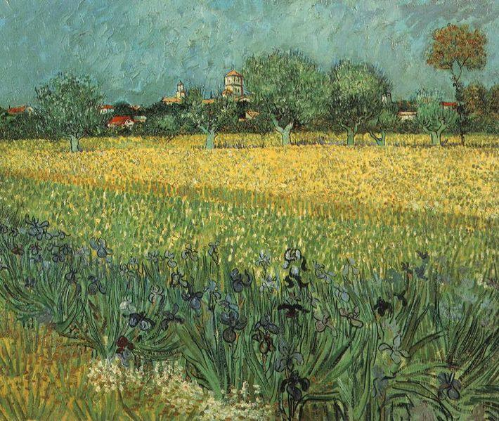 File:VanGogh-View of Arles with Irises.jpg