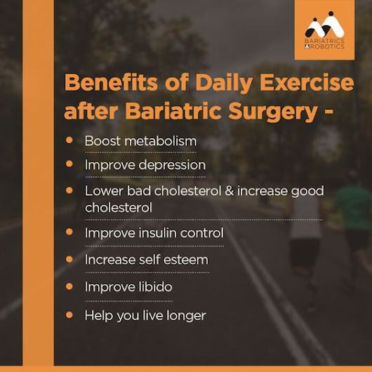 Benefits of Daily Exercise after Bariatric Surgery | 4833574 | Health & Fitness Forum