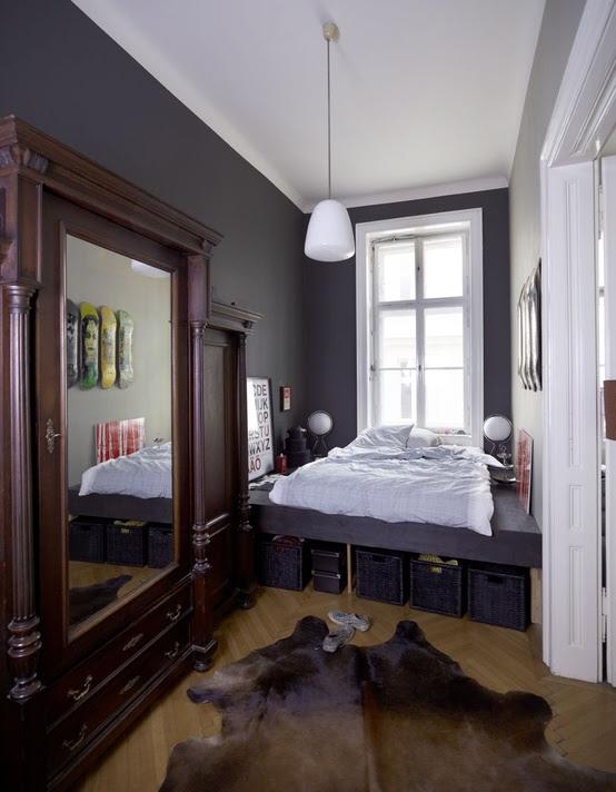 33 Smart Small Bedroom Design Ideas - DigsDigs