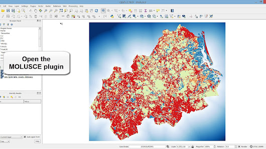How to model and predict land cover change in QGIS