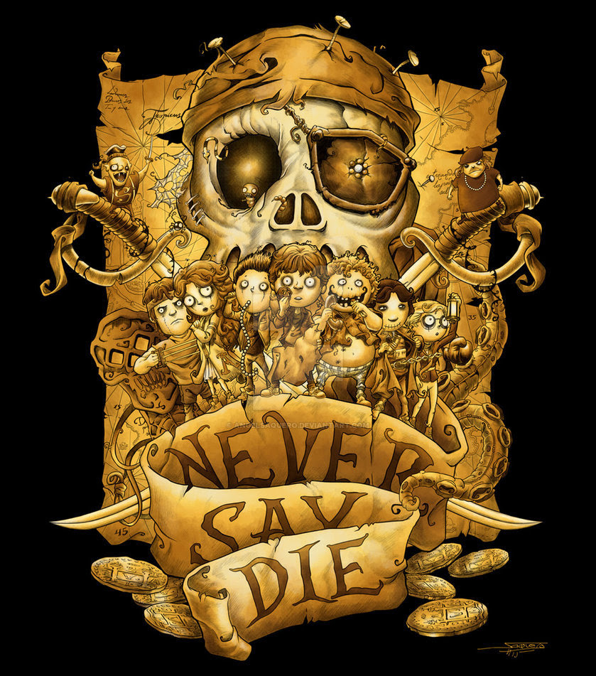 Never Say Die by Angel Saquero