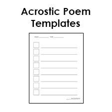 Sensory Poem Template & Rubric: Poetry For Any Subject   Language ...