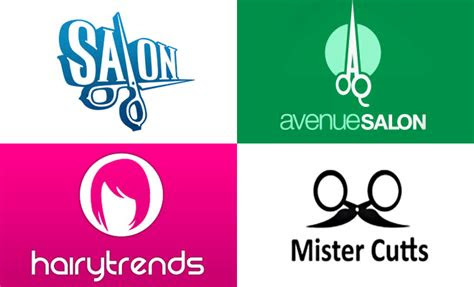 mind  conceptualizing  salon logos