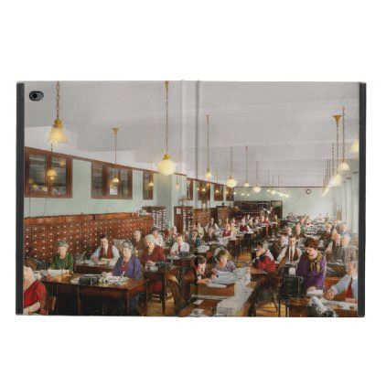 Accountant - Workaholic 1923 Powis iPad Air 2 Case