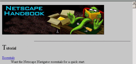 20 years ago today, the commercial Web browser was born with Netscape Navigator