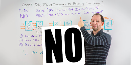 Aren't 301s, 302s, and Canonicals All Basically the Same? - Whiteboard Friday