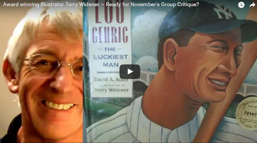 Award-winning children's illustrator Terry Widener critiques Wednesday - How To Be A Children's Book Illustrator