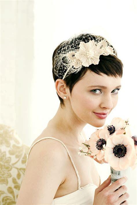 Short Hair Bridal Veils   Fashion Belief
