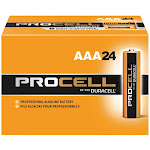 Duracell Procell AAA Professional Alkaline Battery - 24 pack