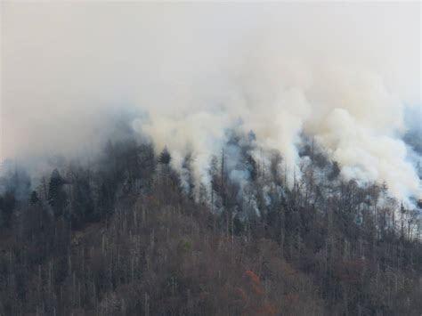 Fire and Smoke in Gatlinburg TN   GatlinburgTNGuide.com