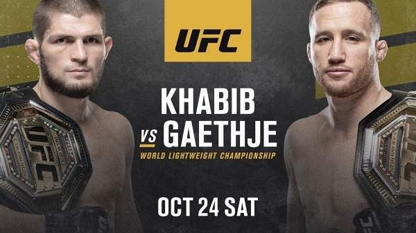 Watch UFC 254 : Khabib Vs Gaethje 10/24/20 Online 24th October 2020 Full Show Free
