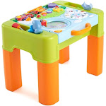 AZ Trading & Import PS928 Play & Learning Activity Desk 6 in 1 Game Table Activity Desk