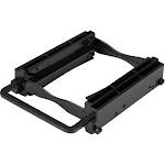 "StarTech.com - Dual 2.5"" SSD/HDD Mounting Bracket for 3.5"" Drive Bay - Black"