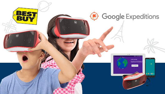Win a Google Expeditions Kit for Your School from Best Buy Canada!