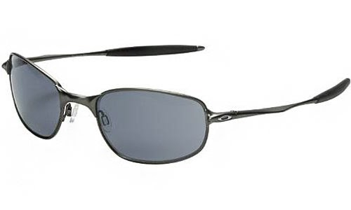 46bfb37f27 Wangbadan  Oakley Men s Big Square Wire Sunglasses (Pewter Frame Grey Lens)